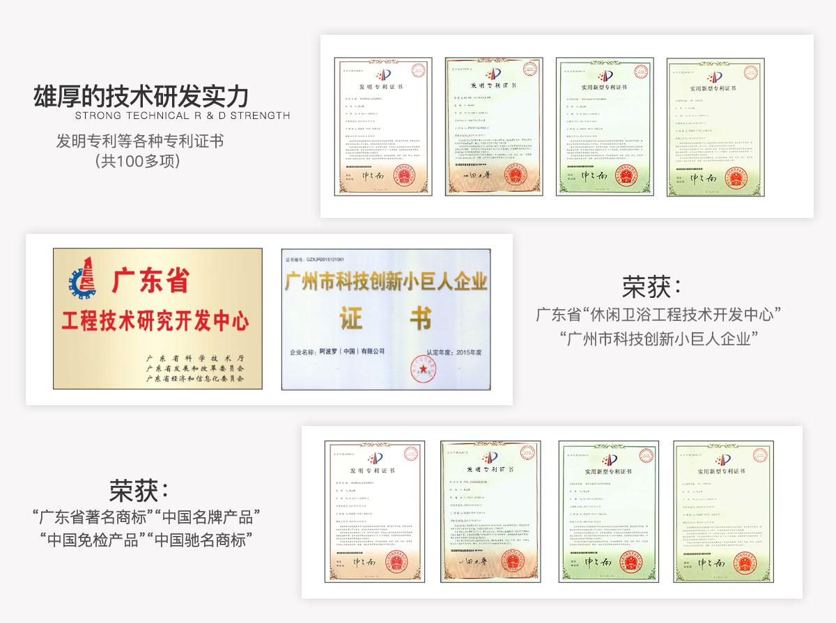 阿波罗(中国)有限公司,阿波罗卫浴,招商加盟,智能卫浴加盟代理,25周年大庆暨战略合作伙伴大会,雄厚的技术研发实力