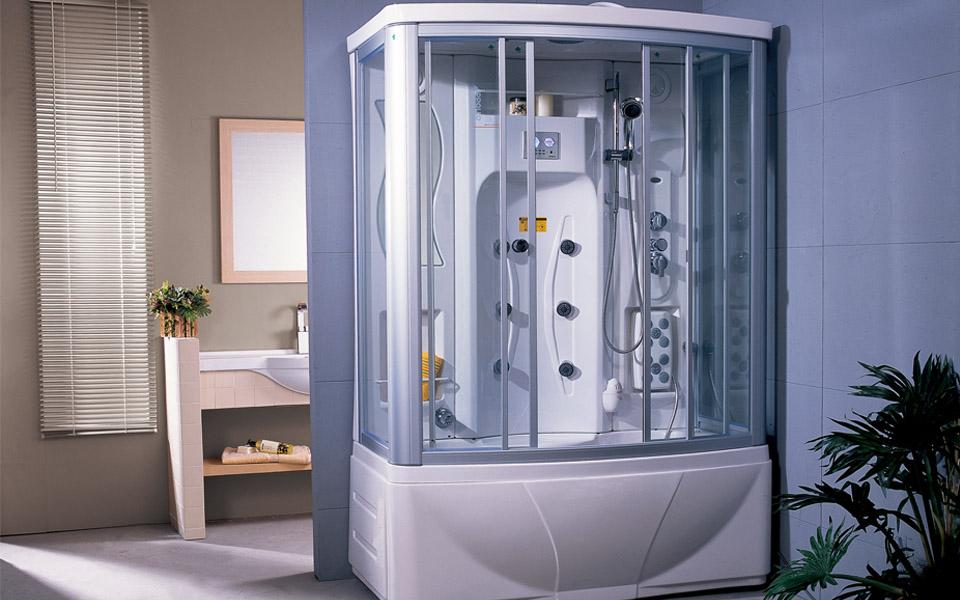 用了APPOLLO阿波罗蒸汽房,8㎡家用卫生间装出五星级的高级感
