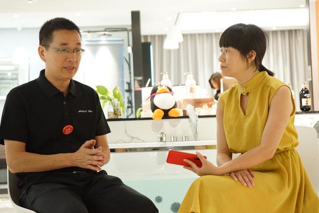 阿波罗广东深圳经销商戴总:从休闲卫浴到智能家居,阿波罗一直踩在市场风口上!
