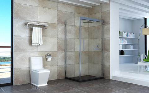 巅峰对决,淋浴房与浴帘,哪个更具优势