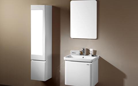 简约时尚的浴室柜,休闲惬意的生活方式