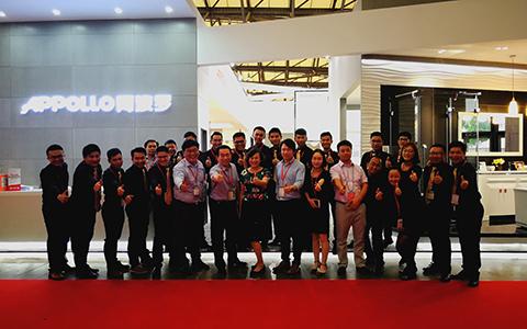 阿波罗卫浴亮相上海国际厨卫展,掀起智能化卫浴新浪潮