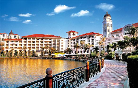 碧桂园-海南金沙滩温泉度假酒店