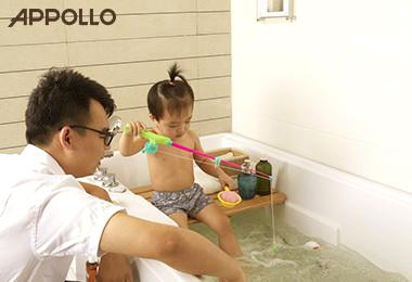 阿波罗卫浴亲子缸-享受亲子欢乐沐浴时光